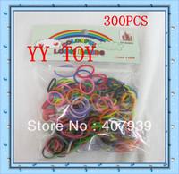 Free ship 5bags/  300pcs/bag  BANDS  DIY BRACELET  loom kits rubber bands loom kit DIY bracelets Christmas gift present