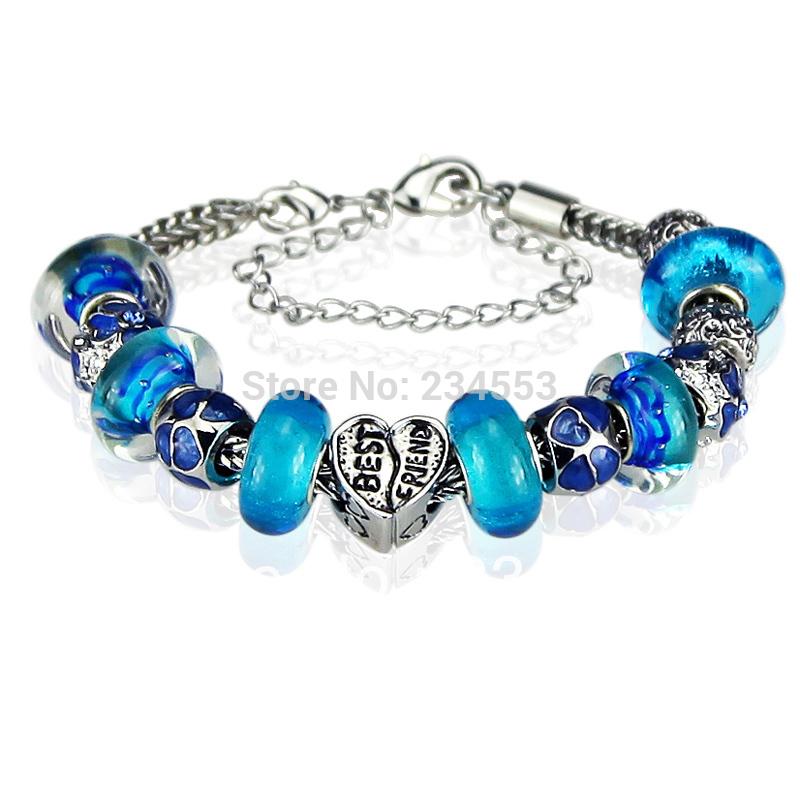 get cheap blue pandora bracelet aliexpress