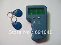 Wholesale - Handheld 125Khz RFID Copier Writer / Duplicator Copy ID Card+ 10pcs EM4305/T5577 Rfid Tag