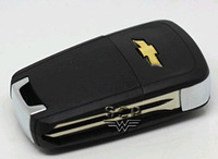Chevrolet Aveo,Epica,Lovas  folding key refires remote control key case,key shell of Chevrolet car