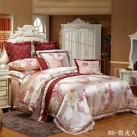 Piece bedding set multiple wedding kit set red