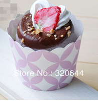 200PCS/Lot Free Shipping Pink Nut Portion Paper Baking Cups,Candy Cups, Favor Cups - Perfect for Small Cupcakes, Muffins, Candy