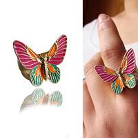 AQ Fashion elegant glaze vintage ring
