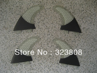 free shipping/fcs surf surfboard quads quad fins/fin/carbon clear color