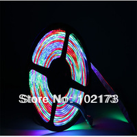 5050 waterproof  DC 12V flexible led lighting strip for kitchen cabinet holiday decoration 54leds RGB colorful