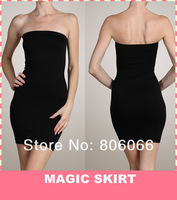 Slimmer Body Shaper Full Control Slip Slim N Lift Ladies Magic Skirt Shapewear For Women (OPP bag) 200pcs Free shipping