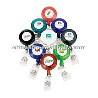 Custom your logo good quality retractable badge reel