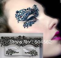 Eye Mask With diamond shining Carbon fiber creative stage art eye paste Hollow Artistic Eye Mask NEW ARRIVAL