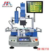 HOT seller  cheapest Vision system high-precision ZM-R6110 smd rework soldering station to repair laptop desktop xbox sp sp2