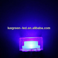 Round  transparent 1*3W  RGB ceiling lamp