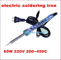 Cheap electric soldering iron Adjustable constant temperature Lead-free Internal heating electric soldering iron 220V 60W