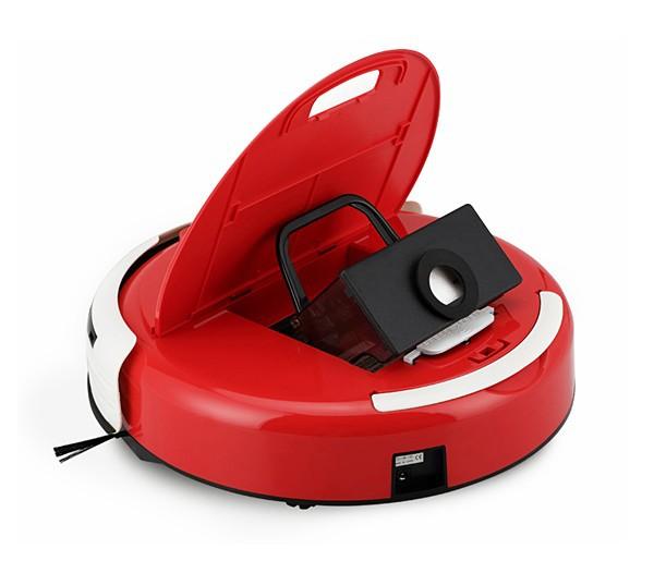 New 100V-240V Y4040C Red Intelligent Automatic Robotic Intelligent Vacuum Cleaner(China (Mainland))