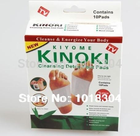 Retail box 100pcs Cleansing Detox Foot Kinoki Pads Cleanse & Energize Your Body(1lot=5Box=100pcs=50pcs Patches+50pcs Adhesive)(China (Mainland))