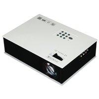 50'~120'mini Hd 1500lm LED Projector Cinema Theater, Support Pc Laptop VGA Input and Hdmi+sd + USB + Av Input