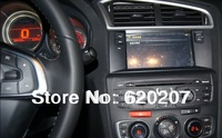 Citroen C4  L CAR DVD player +Radio+BT phonebook+Virtual 6CD+Ipod list+USB +SWC+ATV+GPS+MP4/MP5+3g
