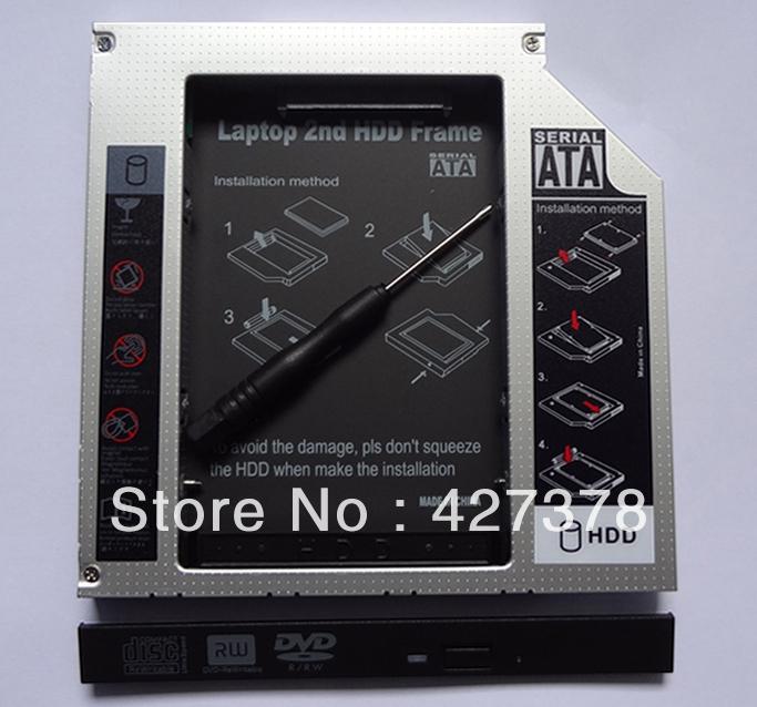 Universal 12.7mm SATA to IDE Optical Bay Hard Drive Adapter Caddy Fit Slot Load ATAPI/IDE drive(China (Mainland))