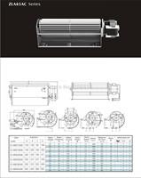 A65120-A65190 AC  cross flow fan/crossflowfan/draught fan/ventilation fan