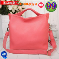 Fashion new arrival 2013 first layer of cowhide women's handbag genuine leather one shoulder cross-body bag small vintage bag