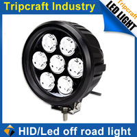 Promotion ! 6'' 70w LED OFFROAD LIGHT cree 7pcs*10w Truck Driving Light 4x4 Tractor SUV Boat work light for OFFROAD