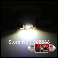 2 x 3W White CREE R2 LED Festoon Dome Bulb Lamp Light Car DC 12V 36mm ERROR FREE