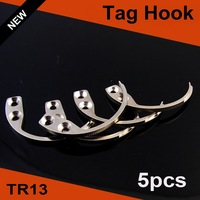 EAS Hook Key Detacher Hard Tag Remover detacher security tag hook 5pcs/lot