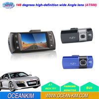 Car DVR AT500 Dash Camera 24HRS Parking Mode HD 1080P 720P 148 Degree Wide Agnle Free shipping