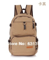In 2013 the new man backpack, canvas men's bags, school bag man, leisure canvas bags wholesale