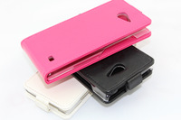 Free Shipping 2013 Hot Selling Mobile Phone Flip Leather Case Cover For Thl MTK6589T Monkey king