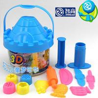 Zhigao 3d dough set 24 plasticine tools mould set kk dough arbitraging