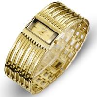 2014 Design wristwatch for women ladies waterproof Gold luxury vintage wristwatches free shipping