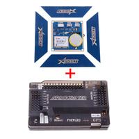 U-blox LEA-6H High Accuracy GPS Module + 3DR ArduPilot Mega 2.6 Flight Controller Board Black for FPV 21164