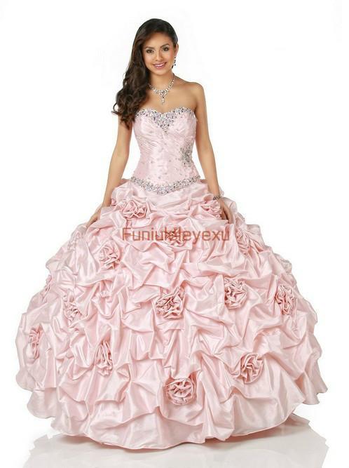 2014 sexy ballkleid ärmellos geraffte taft formelle partei festzug abendkleid lange abschlussball quinceanera kleider