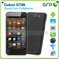 "Support GPS A-GPS 4.5"" 3G Smart Phone Cubot GT99 IPS Screen MTK6589 Quad Core  Android 4.2 Free Shipping"