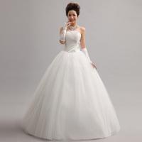Free Shipping New Arrival 2014 High-quality  Sweet Princess Rhinestone Sequins Decoration Bride Wedding Dress MZY