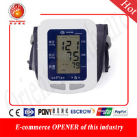 Free shipping Yuyue Brand  automatic blood pressure monitor & Heart Beat Meter Best Gift for your Parents