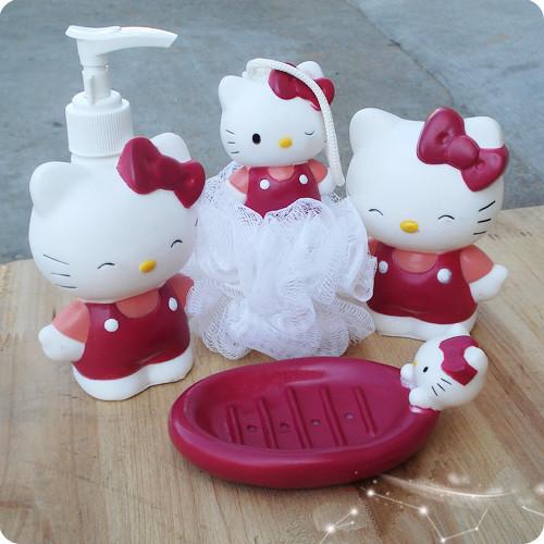 Decoracion De Baños De Hello Kitty:Hello Kitty Christmas Gift Set