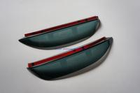 New 1set 2 Pieces Rearview Mirror Rain Gear Special For Nissan Tiida Versa  2011+