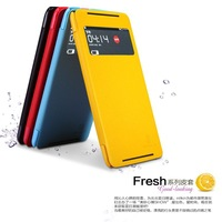 Free shipping Nillkin fresh series side flip leather case for Lenovo S930
