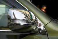 Free shipping 2010-2012 Toyota Land Cruiser Prado FJ150 ABS Chrome Rearview mirror cover Trim/Rearview mirror Decoration