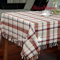 Free Shipping New 2013 Christmas Table Decoration Table Linen Plaid Rectangle Table Cloth Square Table Runner Size 135*220CM