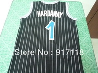 Free Shipping,#1 Anfernee Hardaway Rev 30 Top quality Basketball jersey,Embroidery logos,Size 44-56
