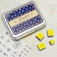 DIY Scrapbooking Vintage Lace Stamp Wood Stamps Iron Box Sealing Stamp Set jewelry 12