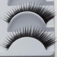 Charming Black Curling Eyelashes Cute Human Hair Eyelash For Lashes Cheap False Eyelashes