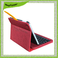 For iPad mini 2 Retina Luxury Smart Leather Case Cover With Detachable Bluetooth Keyboard,Newest Design