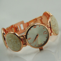 Lady Fashion Stainless Steel Watches woman bracelet hand chain quartz watch  bracelet  watch
