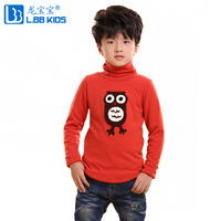 Children's clothing male child autumn and winter children thickening 2013 basic shirt child baby underwear