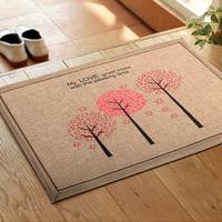 Waste-absorbing boso slip-resistant mats fabric door pararllel mat entranceway bedroom carpet