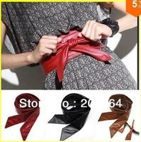 Euro Fashion Lady Bowknot Bind Wide Belt Belt 4 Colors 1290