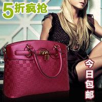 Fashion platinum 2013 embossed bag vintage handbag cross-body women's one shoulder handbag bags
