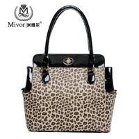 2013 fashion leopard print bag women's handbag shoulder bag handbag big cross-body bags